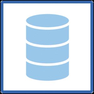 商材データはデータベースで管理