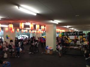 うさみの園のお祭り 2014